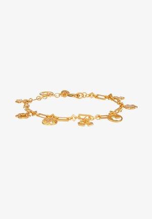 LOGO CHARM BRACELET - Armband - gold-coloured
