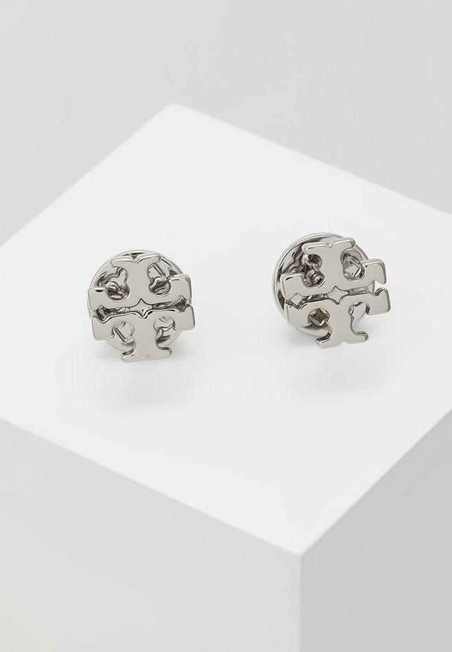 LOGO EARRING - Örhänge - silver-coloured
