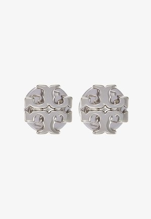 LOGO EARRING - Oorbellen - silver-coloured