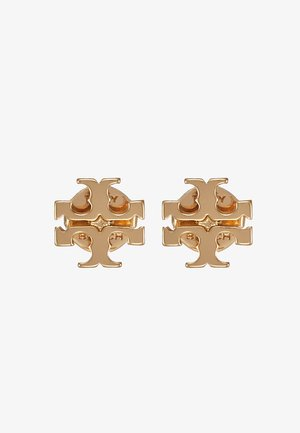 LOGO EARRING - Pendientes - gold-coloured