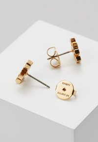 Tory Burch - LOGO EARRING - Orecchini - gold-coloured - 2