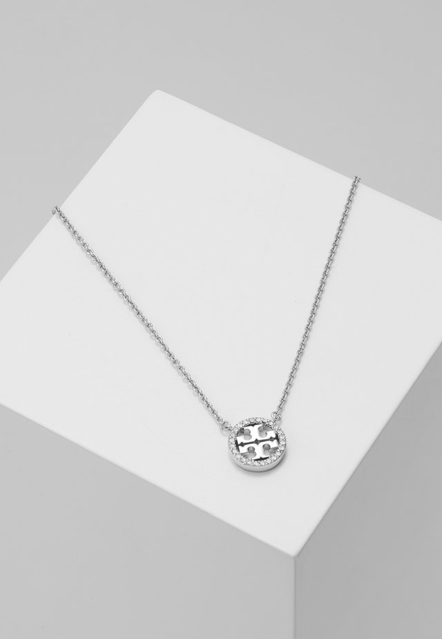 LOGO DELICATE NECKLACE - Necklace - silver-coloured