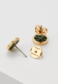 Tory Burch - MILLER CIRCLE EARRING - Pendientes - gold-coloured/equestrian green - 2