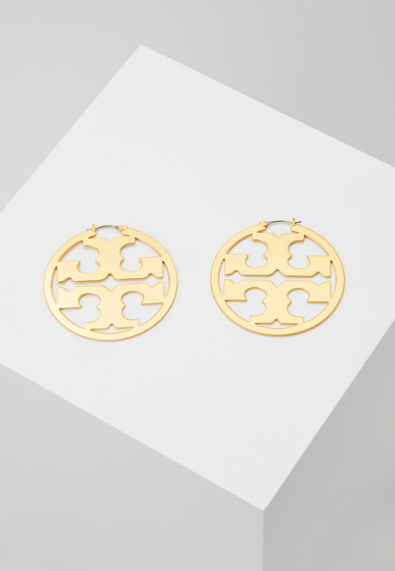Tory Burch - MILLER HOOP EARRING - Earrings - rolled brass