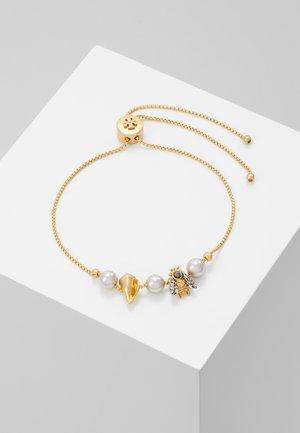 POETRY OF THINGS SLIDER BRACELET - Armband - gold-coloured