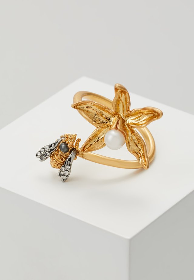 POETRY OF THINGS  - Ringar - gold-coloured