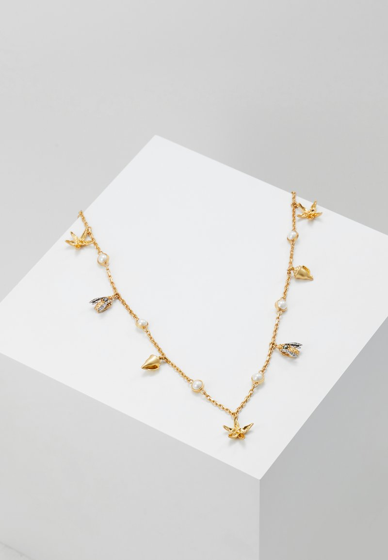 Tory Burch - POETRY OF THINGS ROSARY - Halskette - gold-coloured
