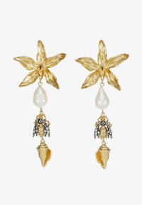 Tory Burch - POETRY OF THINGS LINE EARRING - Pendientes - gold-coloured - 3