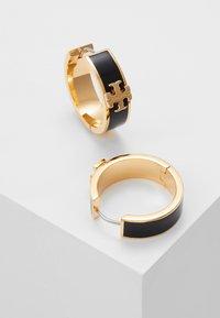 Tory Burch - KIRA HUGGIE EARRING - Boucles d'oreilles - gold-coloured/black - 2