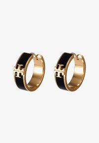 Tory Burch - KIRA HUGGIE EARRING - Orecchini - gold-coloured/black - 3