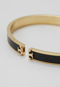 Tory Burch - KIRA HINGED BRACELET - Bransoletka - gold-coloured/black - 4