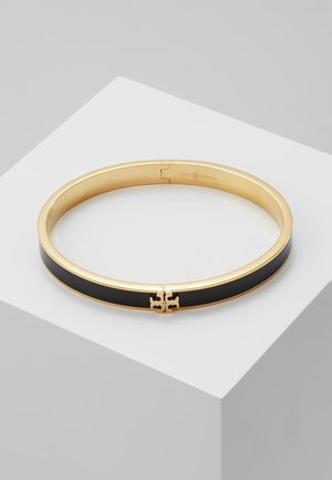 KIRA HINGED BRACELET - Bracelet - gold-coloured/black