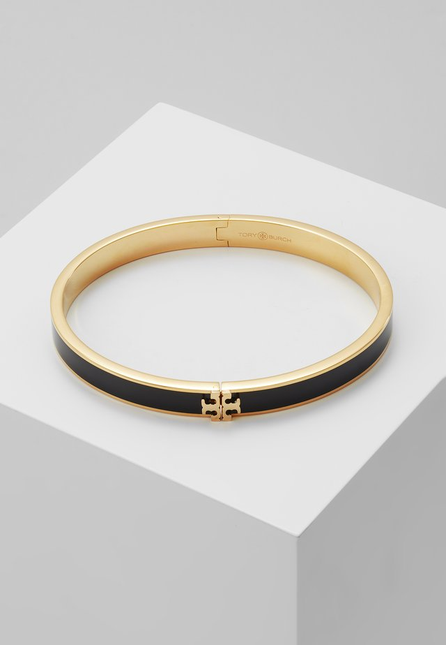 KIRA HINGED BRACELET - Armband - gold-coloured/black