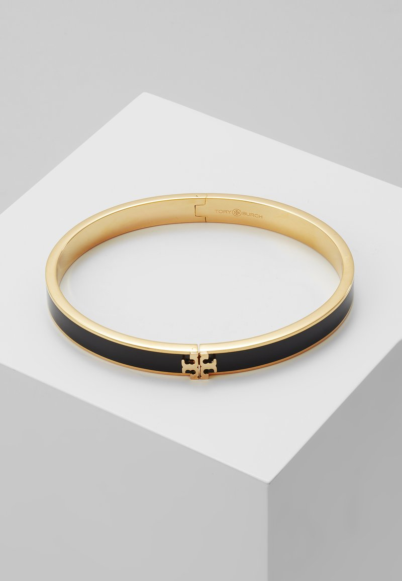 Tory Burch - KIRA HINGED BRACELET - Bransoletka - gold-coloured/black