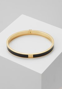 Tory Burch - KIRA HINGED BRACELET - Bransoletka - gold-coloured/black - 2