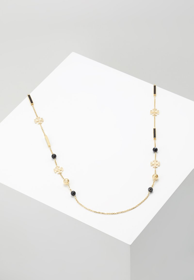 Tory Burch - KIRA ROSARY - Necklace - gold-coloured/black