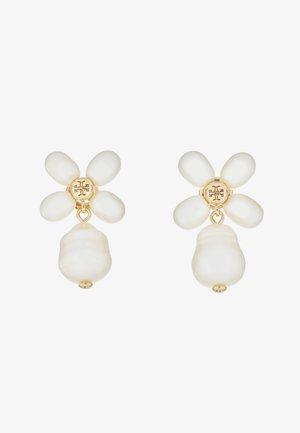 BUDDY CLOVER  DROP EARRING - Náušnice -  gold-coloured/ivory