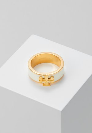 KIRA LOGO RING - Ring - gold-coloured/new ivory