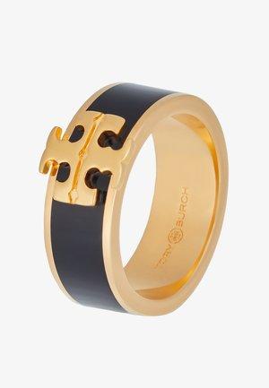 KIRA LOGO  - Sormus - gold-coloured/black