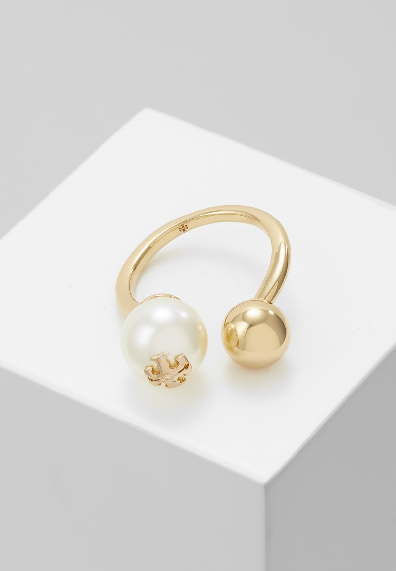Tory Burch - PEARL - Ring - gold-coloured/creme
