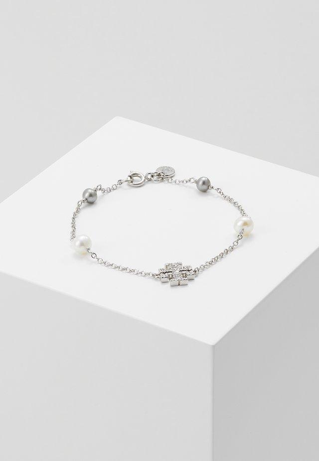 KIRA PAVE DELICATE BRACELET - Armband - silver-coloured