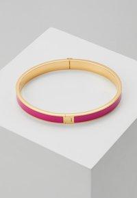 Tory Burch - KIRA BRACELET - Armband - gold-coloured/crazy pink - 2