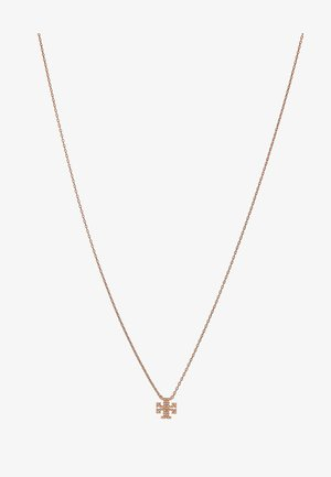 KIRA PAVE DELICATE NECKLACE - Necklace - rose gold-coloured