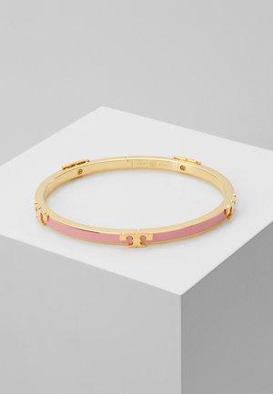 SERIF STACKABLE BRACELET - Bransoletka - tory gold-coloured/pink city