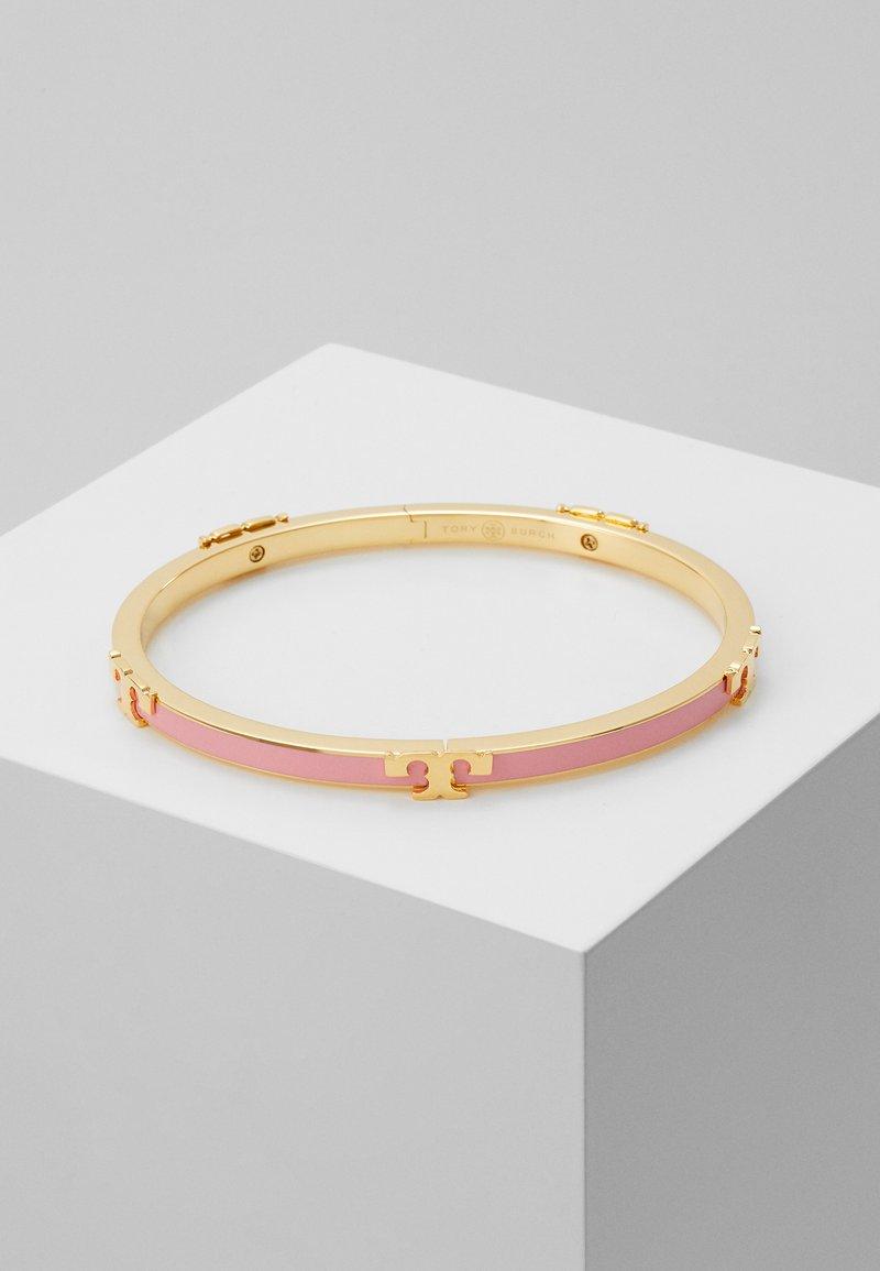 Tory Burch - SERIF STACKABLE BRACELET - Bracelet - tory gold-coloured/pink city