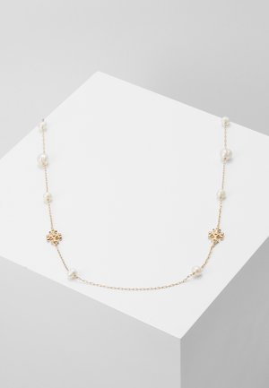 KIRA NECKLACE - Ketting - gold-coloured/ivory