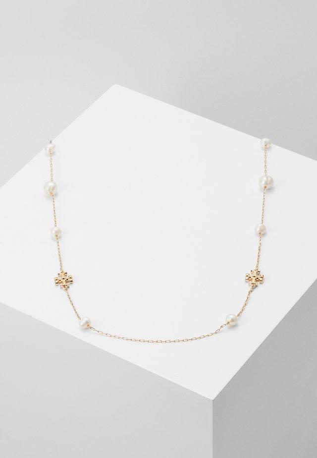 KIRA NECKLACE - Necklace - gold-coloured/ivory