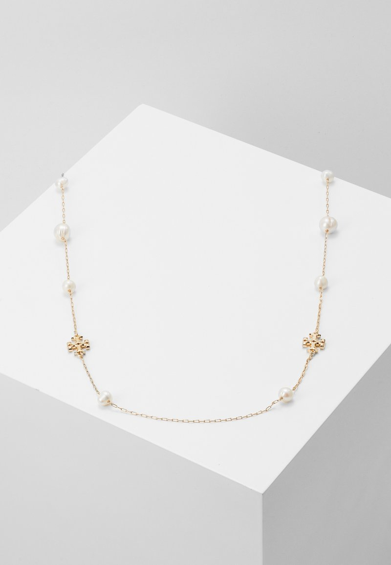 Tory Burch - KIRA NECKLACE - Náhrdelník - gold-coloured/ivory