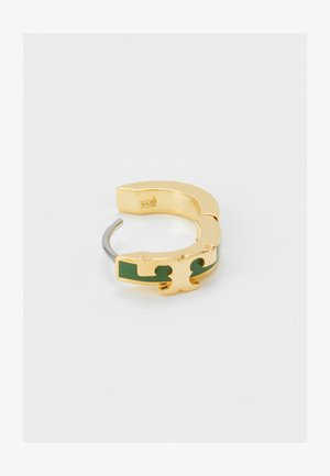 KIRA STACKABLE HUGGIE HOOP EARRING - Earrings - gold-coloured/arugula