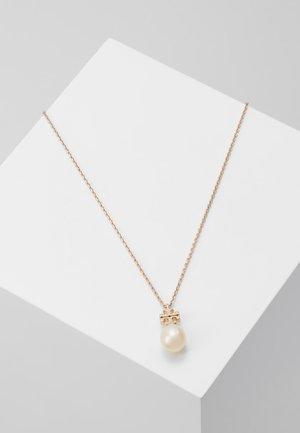 KIRA PENDANT NECKLACE - Necklace - rose gold-coloured/champange