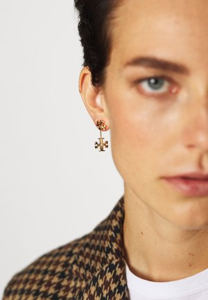 KIRA LINEAR EARRING - Orecchini - gold-coloured