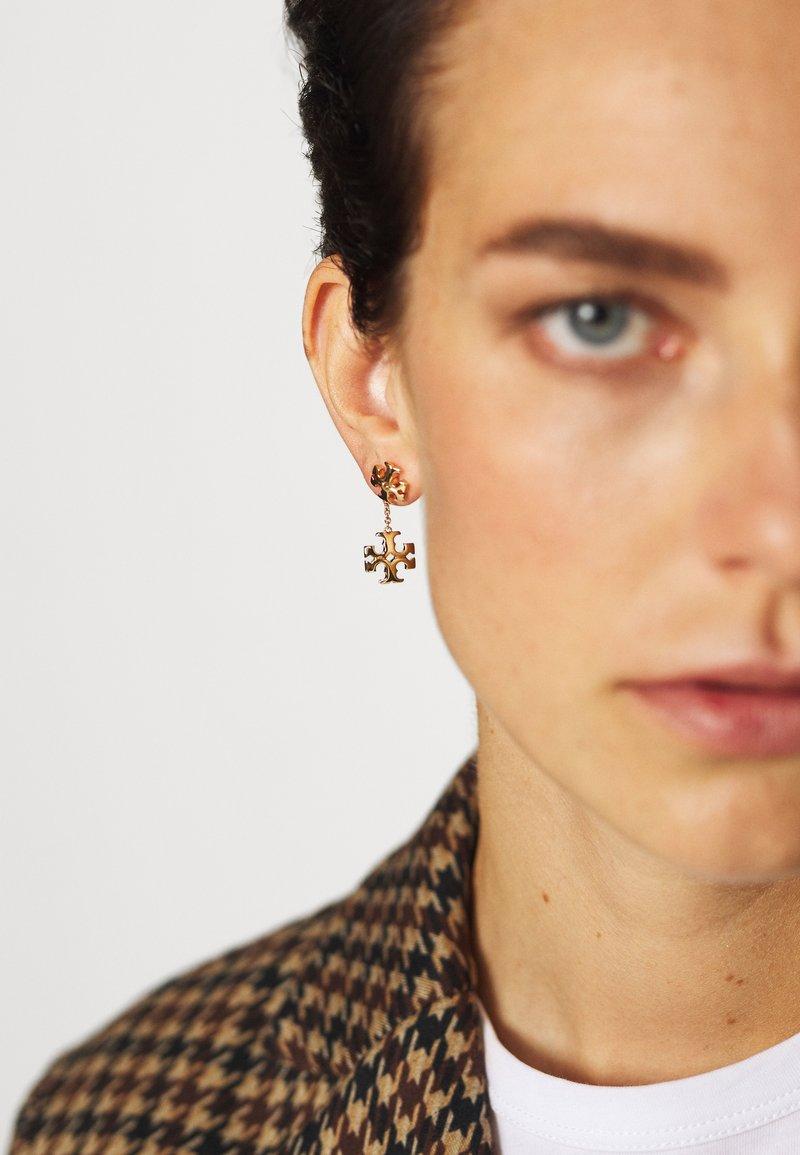 Tory Burch - KIRA LINEAR EARRING - Earrings - gold-coloured