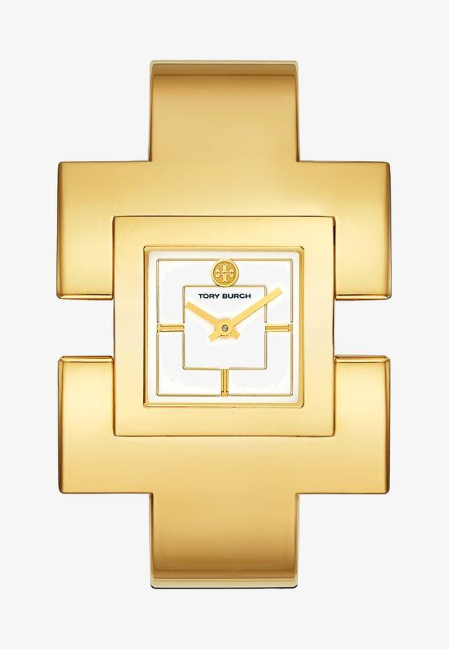 THE T BANGLE - Klocka - gold-coloured