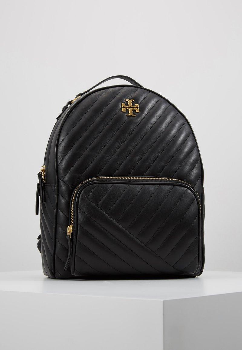 Tory Burch - KIRA CHEVRON ZIP AROUND BACKPACK - Tagesrucksack - black/gold