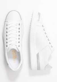 Trussardi Jeans - Sneakers basse - white/silver - 3