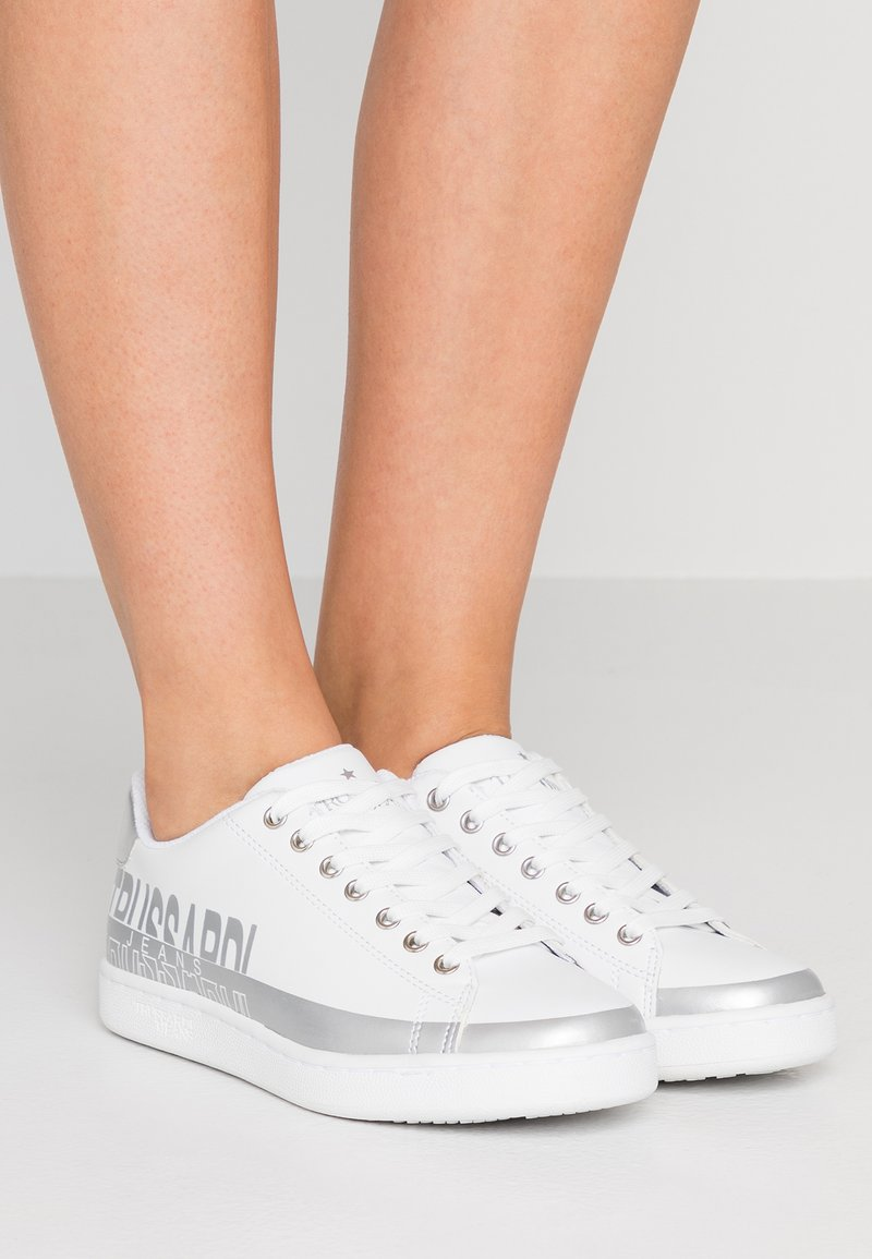 Trussardi Jeans - Sneakers basse - white/silver
