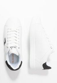 Trussardi Jeans - Trainers - white/black - 3