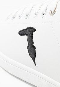 Trussardi Jeans - Trainers - white/black - 2