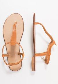 Trussardi Jeans - T-bar sandals - tan - 3