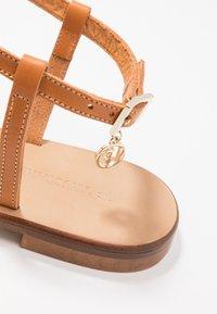 Trussardi Jeans - T-bar sandals - tan - 2