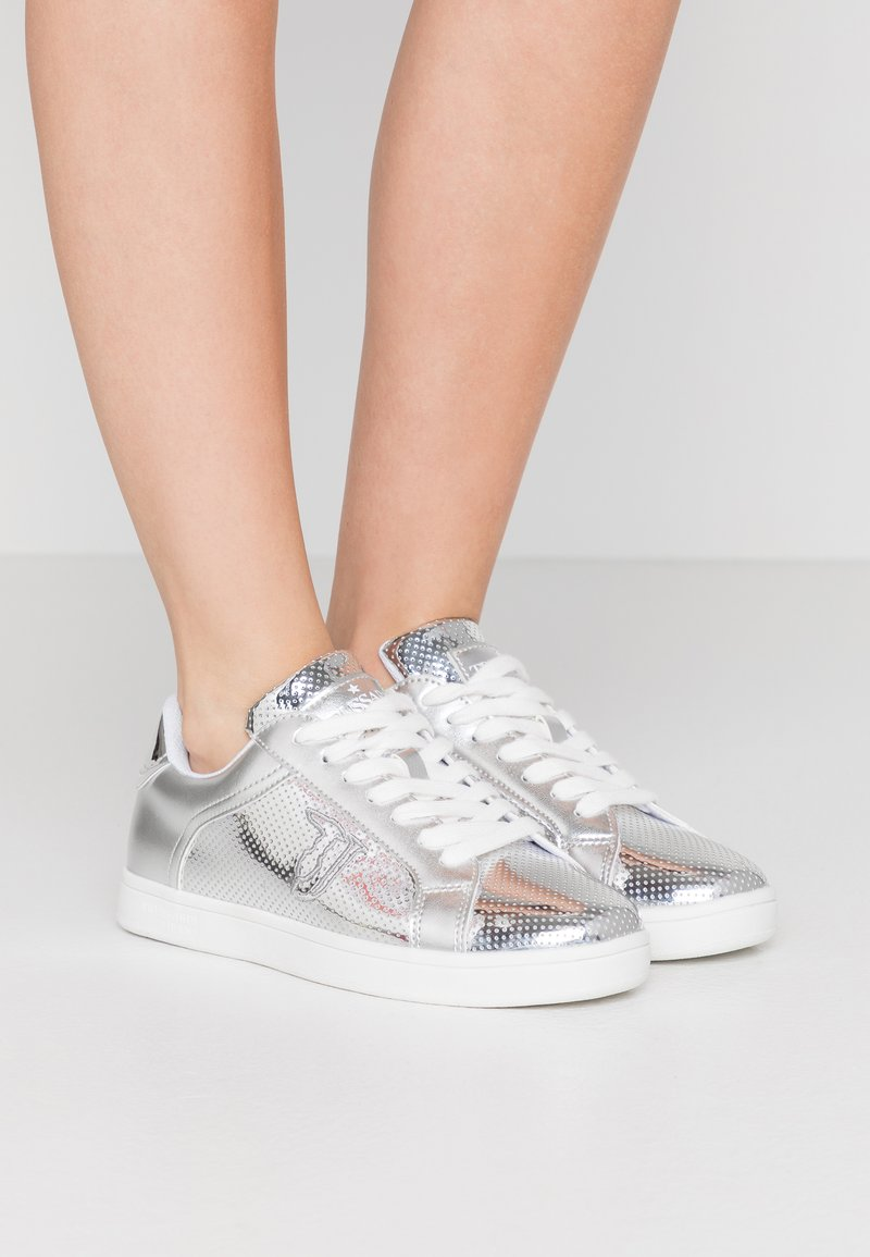 Trussardi Jeans - Trainers - silver