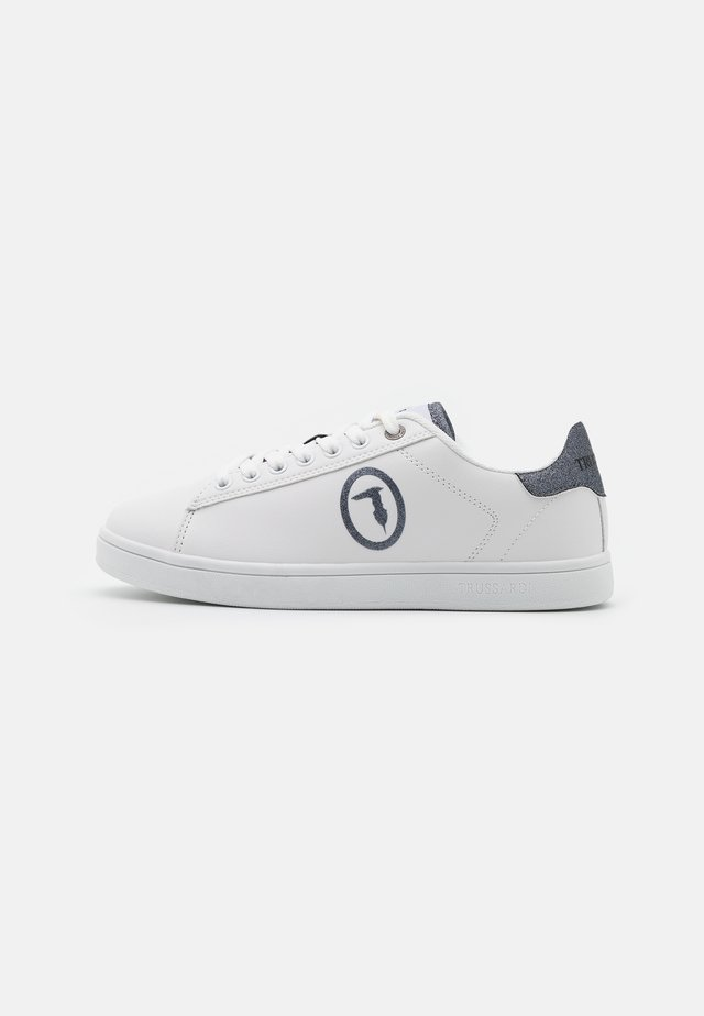 GALIUM LOGO GLIT - Trainers - white/gunmetal