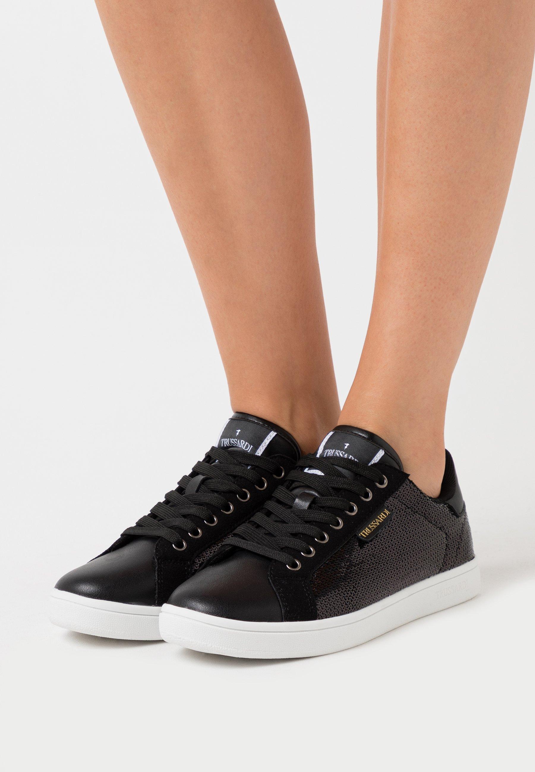Gutes Angebot Trussardi GALIUM - Sneaker low - black | Damenbekleidung 2020