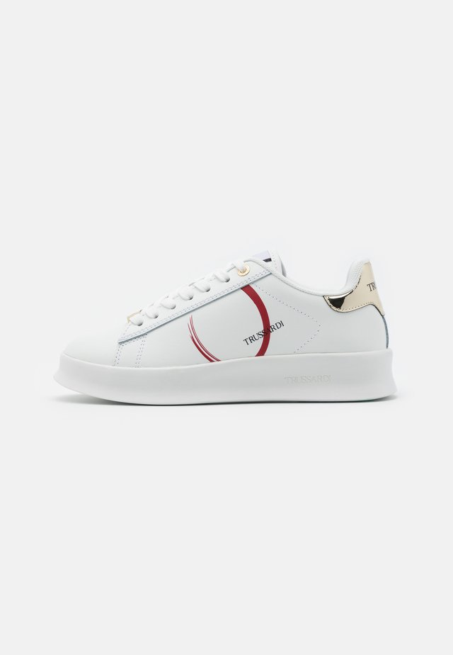 ANEMONE ACTION LOGO - Sneakers laag - white/red/gold