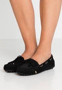 Trussardi Jeans - Mokasíny - black - 0