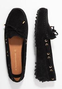 Trussardi Jeans - Mokasíny - black - 3